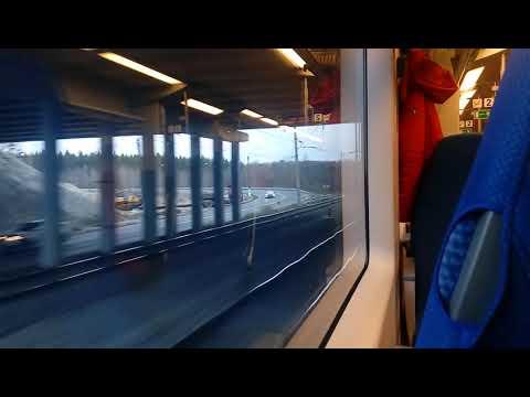 Нижний Новгород – Дзержинск. Поезд № 729 Нижний Новгород - Москва 01.11.2018