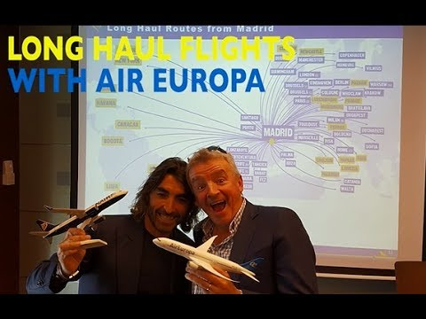Launch of our new connecting flight partnership with Air Europa!