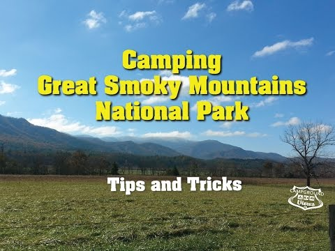 Great Smoky Mountains National Park Camping Campgrounds and RV parks