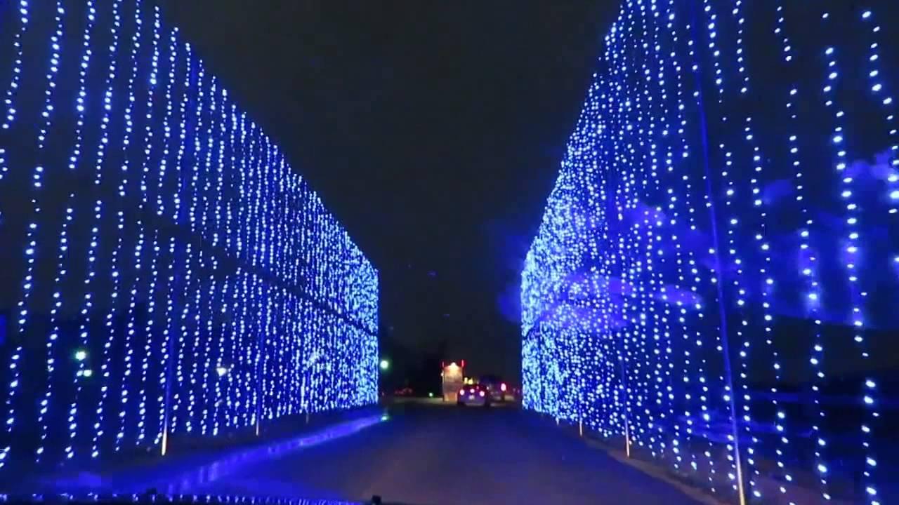 Shadrack's Lights at Heritage Park Simpsonville, SC - YouTube