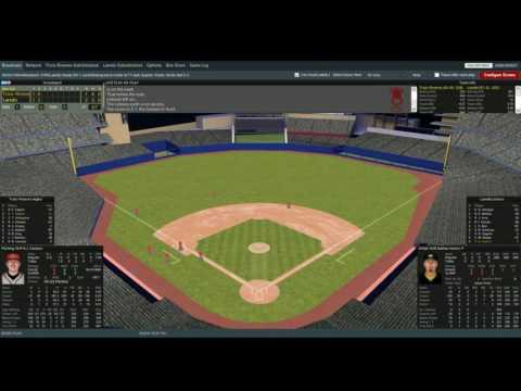 1954 Premier League Baseball Divisional Series - Trois Rivieres vs. Laredo