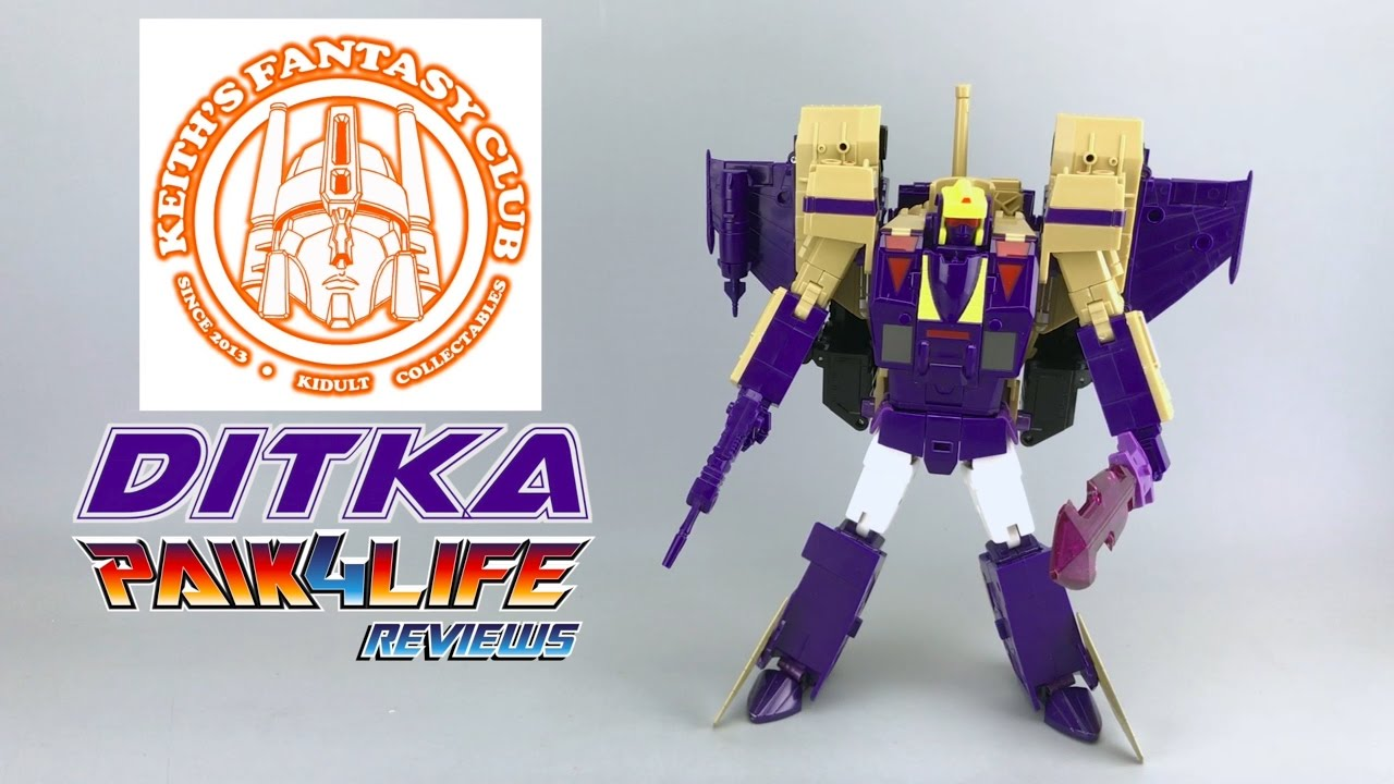 New KFC Toys Transformers G1 Eavi Metal PHASE 7 A MP Ditka Blitzwing in Stock