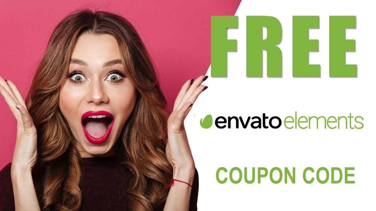 🔥 GET 1 month FREE Envato Elements Subscription COUPON CODE (⏱Valid first half of JUNE 2021) 🔥 - YouTube