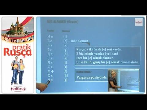 Rus Alfabesi 2: Cins Konusu - Pratik Rusça Eğitimi