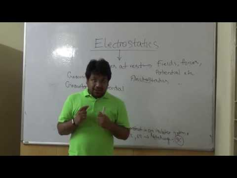 Class XII - Electric field & Electric Potential Best Physics Teacher kolkata