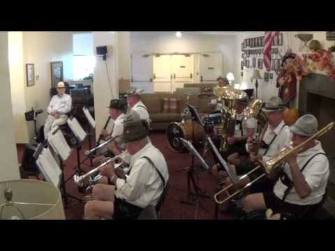 El Cajon German Band HAPPY WANDERER 10-11-15