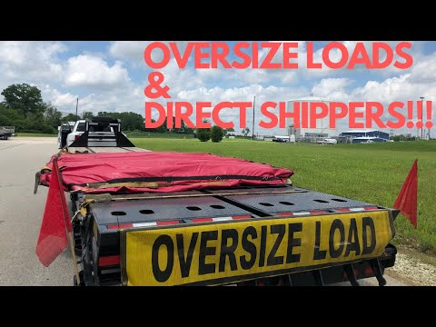 HOTSHOT TRUCKER: GAINING DIRECT SHIPPERS & HAULING OVERSIZED LOADS- BEATING LOW FREIGHT RATES!!!