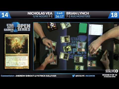 SCGWOR - Standard - Round 9 - Brian Lynch vs Nicholas Vea [Magic: the Gathering]