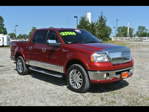 2007 lincoln mark lt supercrew for sale dayton troy piqua. Black Bedroom Furniture Sets. Home Design Ideas