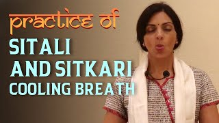 Practice of Cooling Breath Pranayama