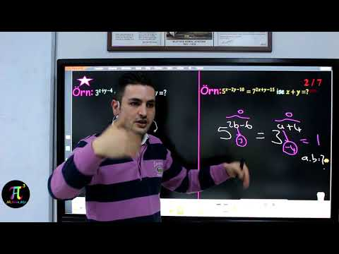 Üslü Sayılar 4(Üslü Sayıların Özellikleri) I Ali Ahsen Akti
