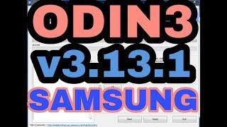 Gambar cover odin flash tool Latest Update Version Download Odin 3.13.1 (Samsung Flashing Tool)