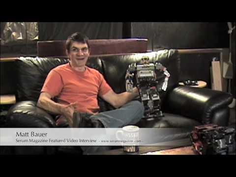 Matt Bauer Serum Magazine Interview