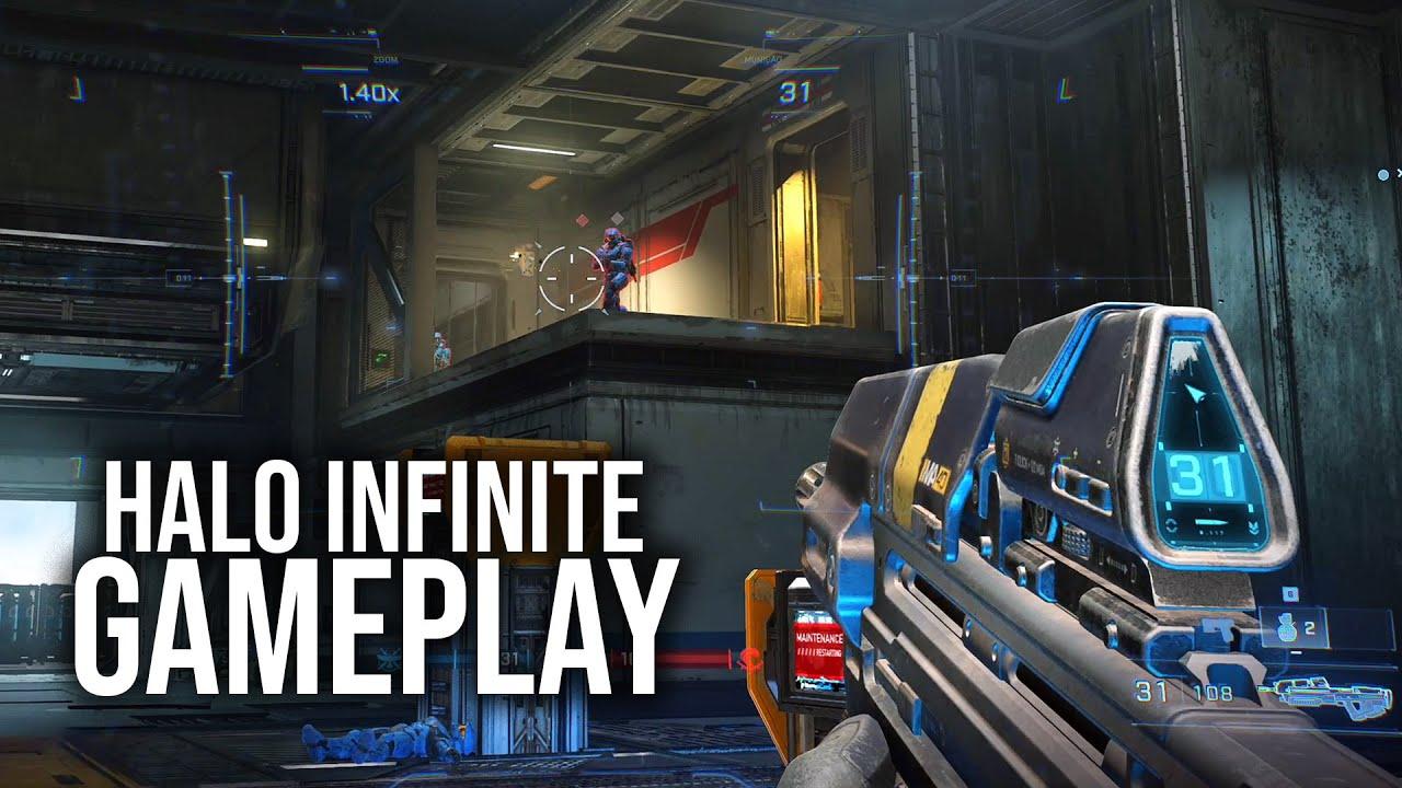 HALO INFINITE - Gameplay do Multiplayer!