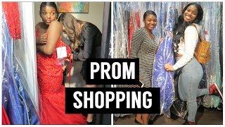 PROM DRESS SHOPPING!!