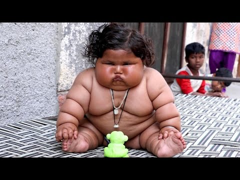 Giant 8-Month-Old Baby Weighs 38lbs