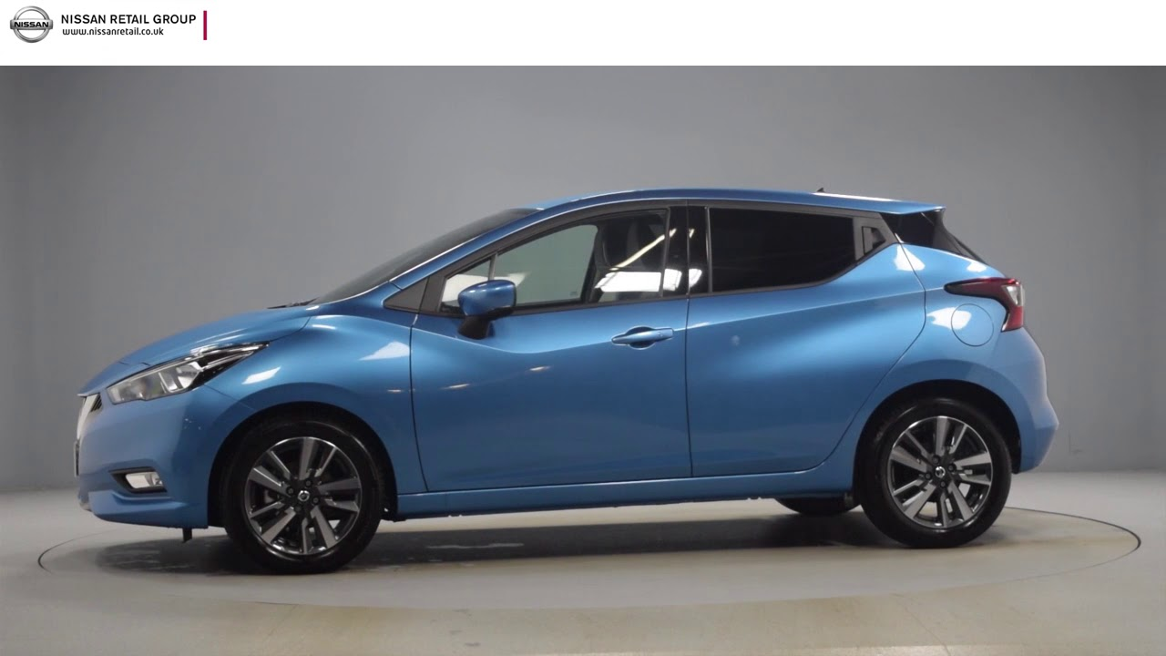 Nissan Micra Ig T N Conecta Power Blue Youtube