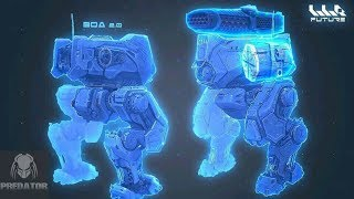 NEW vs OLD BOA DESIGN | War Robots | Test Server 3.5 BoA 検索動画 11