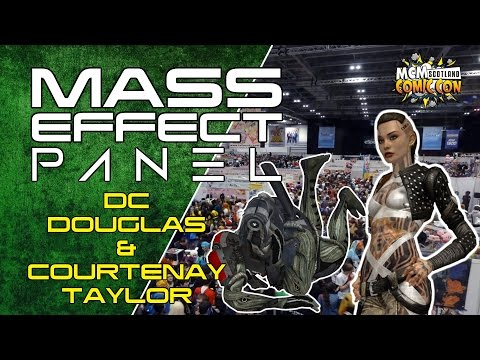 Mass Effect Panel - DC Douglas & Courtenay Taylor - MCM Scotland 2014