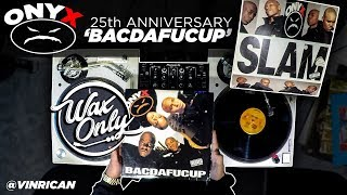 Discover Samples On Onyx 'BACDAFUCUP' #WaxOnly
