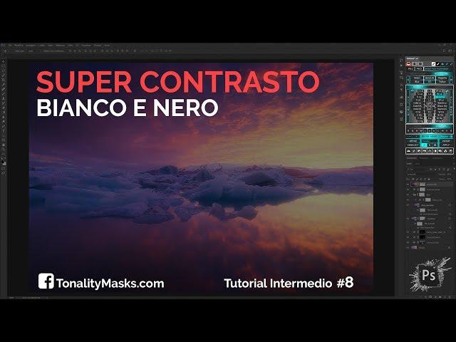 BIANCO E NERO - SUPER CONTRASTO in modo semplice e veloce - TMPanel