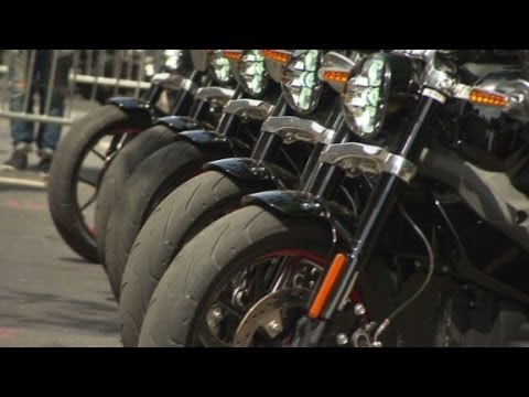 Hear the new electric Harley