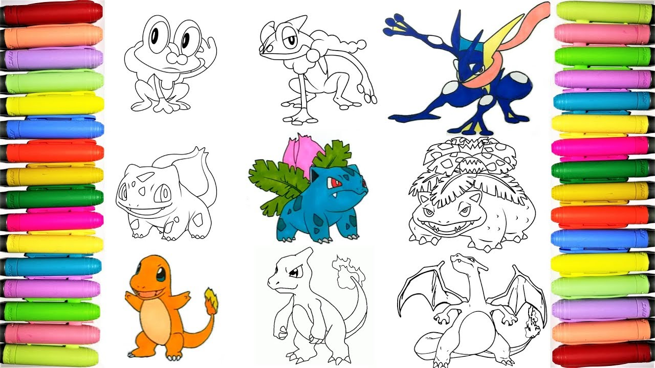Pokemon Coloring Pages For Kids 2
