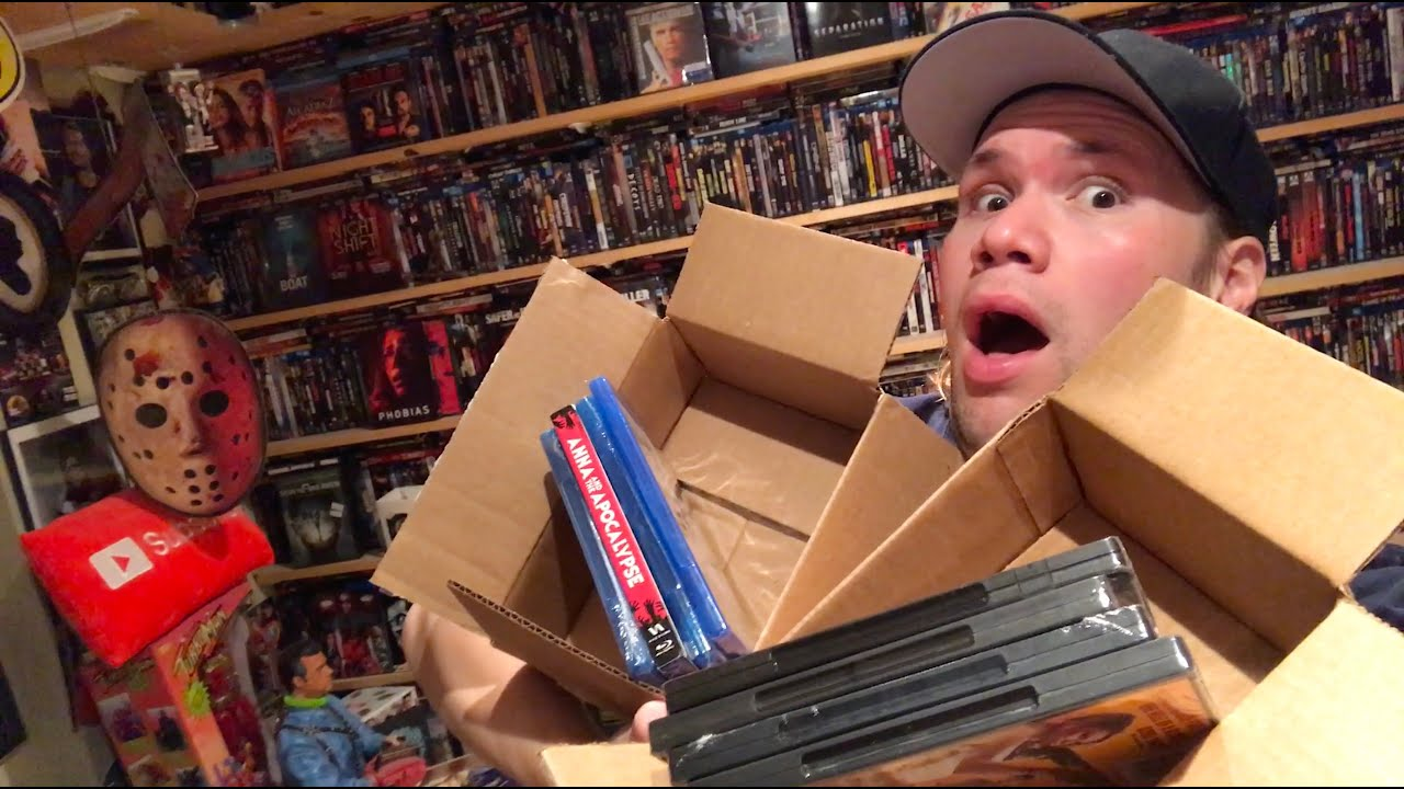 Mystery Horror Blu-rays and Dvds Unboxing - Horror Pack (July 2021)