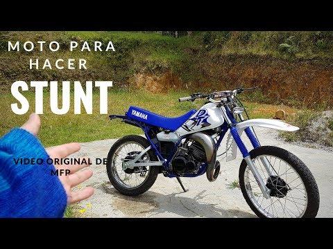 Compr� Yamaha DT 125 para hacer Stunt