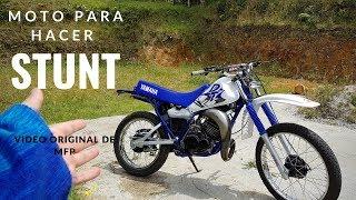 Compró Yamaha DT 125 para hacer Stunt