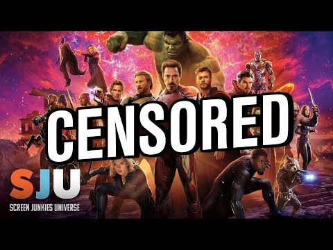Avengers: Infinity War Gets Censored Abroad? - SJU