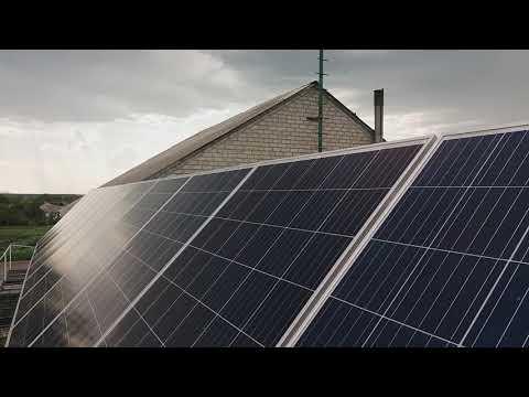 Размещение солнечной электростанции по Фэн-шуй.