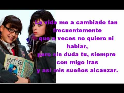 Atrevete A Soñar - Danna Paola & Violeta Isfel - Lyrics ...