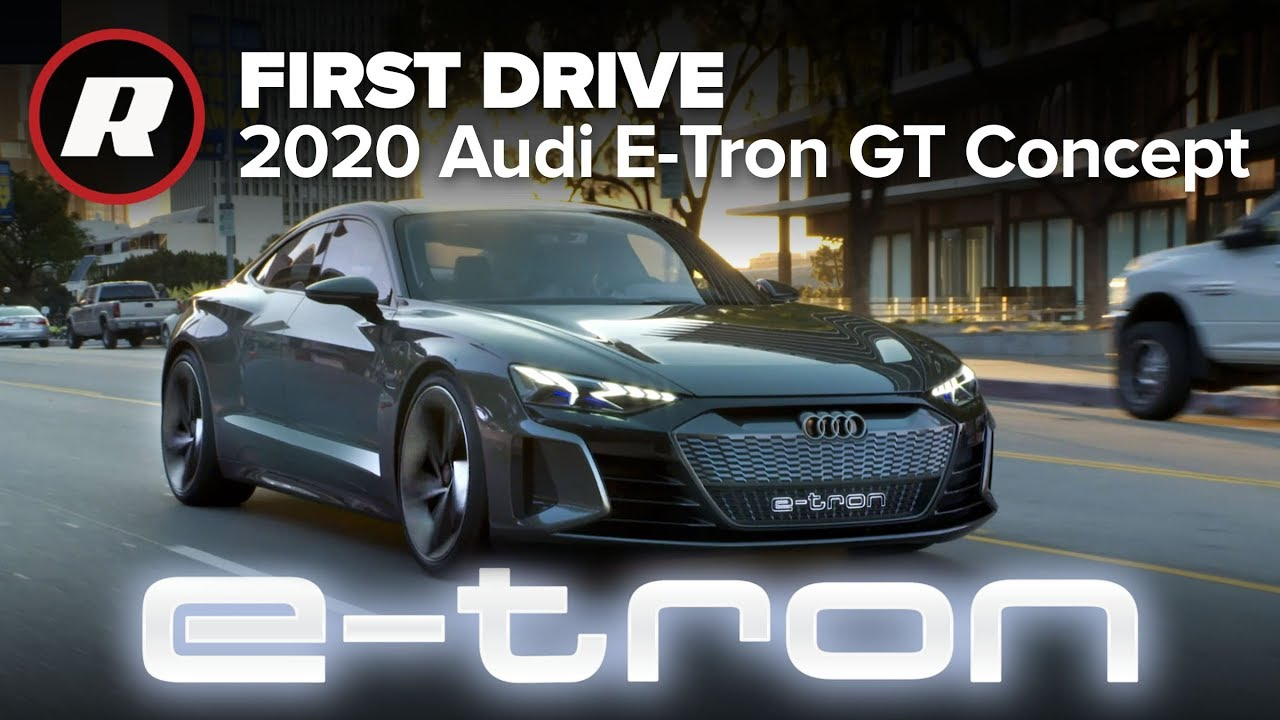 Driving The Stunning Audi E Tron Gt Concept