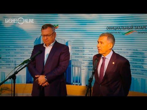 Президент ВТБ пообещал миллиардные кредиты на проекты ТАИФа и Татнефти