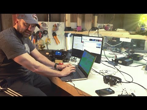 Ham Radio Contest CQ Worldwide WPX SSB | ICOM IC-7300 Review