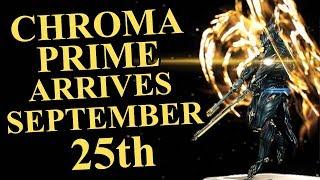 Warframe - Chroma Prime, Rubico Prime & Gram Prime