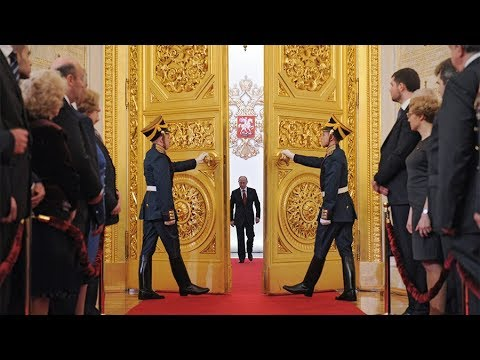 Putin inaugurated as Russian president