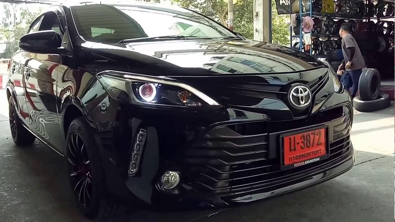 Toyota Vios 2017 Review >> REVIEW แต่งรถ TOYOTA VIOS 2017 ไฟหน้าแต่งขั้นเทพ โดย OPTIONGT - YouTube