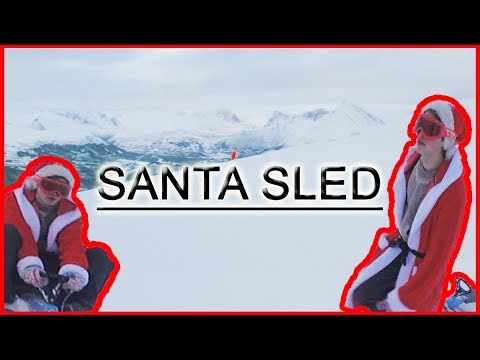 Incredible Santa Sled Ride - The day after Christmas