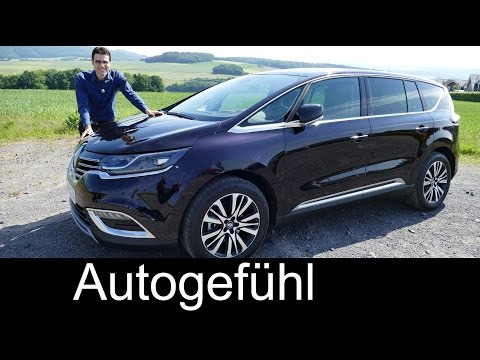 All-new Renault Espace Initiale Paris FULL REVIEW test driven MPV Van 2016 top trim - Autogefühl