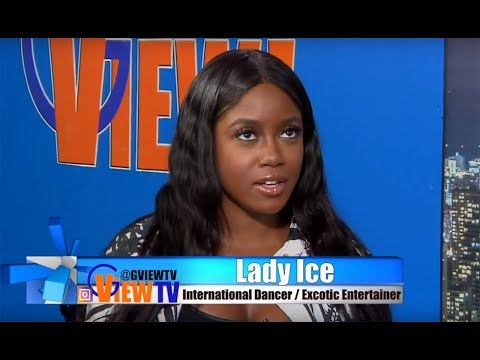 Lady Ice the female that brings it to the owner Dexta Daps in his music video
