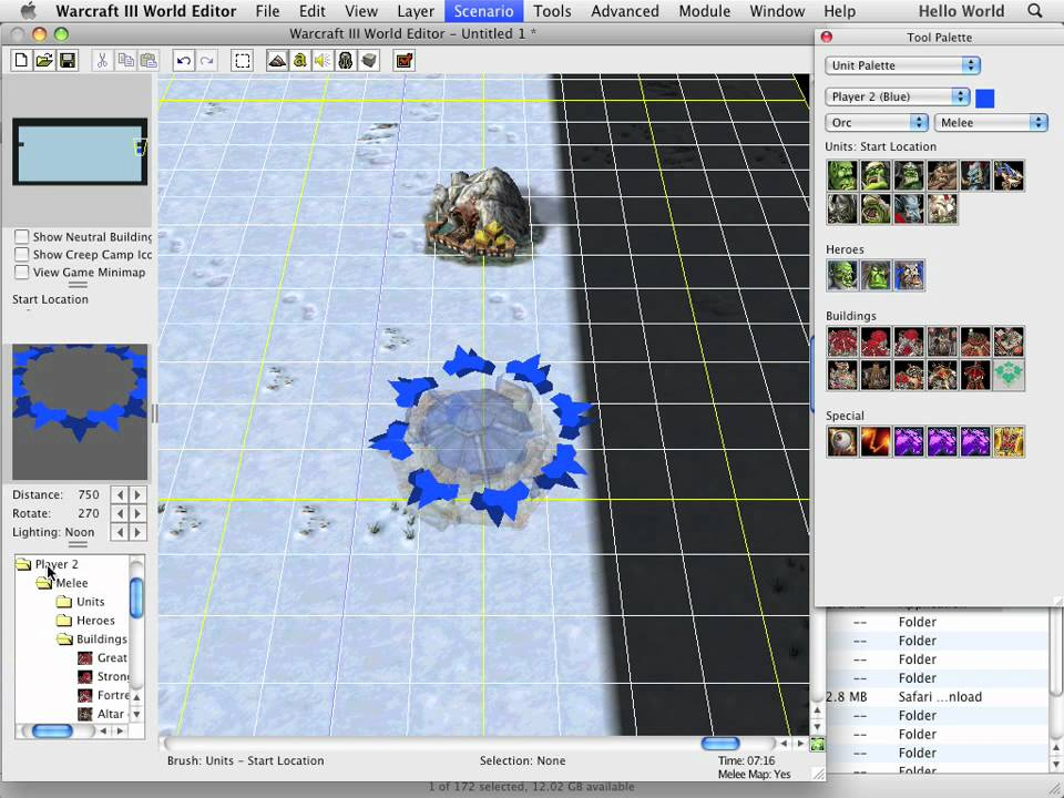 Warcraft iii world editor tutorial how to create a map youtube publicscrutiny Images
