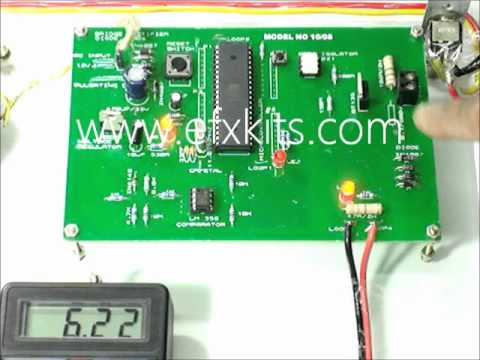 Industrial battery charger by Thyristor Firing Angle Control   Electrical  Projects