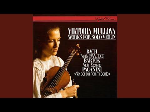 Bartók: Sonata for Solo Violin, BB 124 (Sz.117) - 3. Melodia (Adagio)