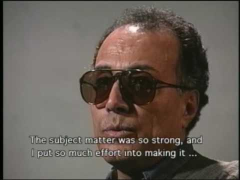 "Abbas Kiarostami discusses ""Close-Up"" Pt. 1 - Decision to Make the Movie"