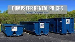 Dumpster Rental Prices | Budget Dumpster