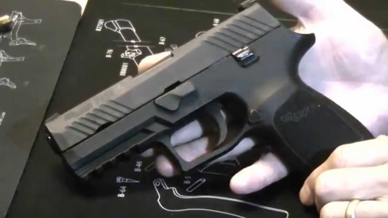 SIG's new 45: the Sig Sauer P320 Compact 45