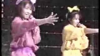 お宝ビデオ映像。1988年録画。メンバーは山口由子、鈴木亜希子、木村由...