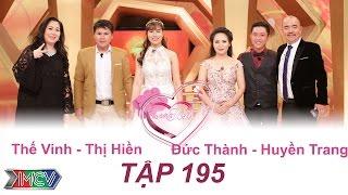 VỢ CHỒNG SON | Tập 195 FULL | Thế Vinh - Thị Hiền | Đức Thành - Huyền Trang | 140517